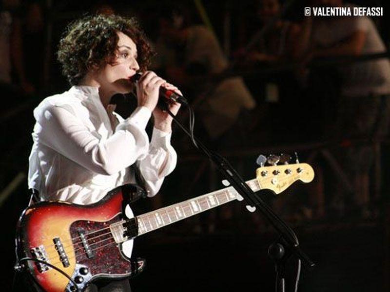 27 Giugno 2010 - Mtv Days - Torino - Carmen Consoli in concerto