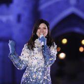 """Laura Pausini presenta """"Laura Xmas"""" a Disneyland"""