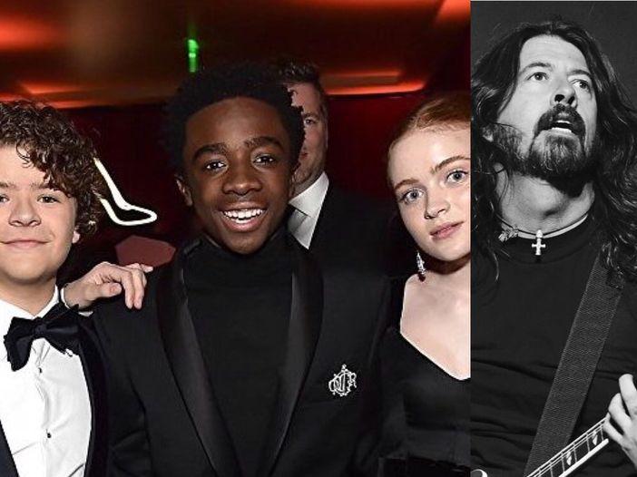 I ragazzi di 'Stranger Things' sono andati a vedere i Foo Fighters insieme – FOTO