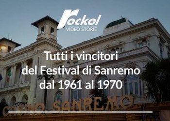 Tutti i vincitori del Festival di Sanremo dal 1961 al 1970