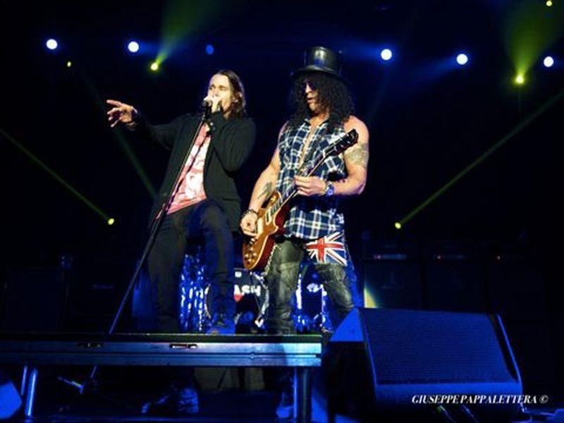 26 ottobre 2012 - PalaGeox - Padova - Slash in concerto