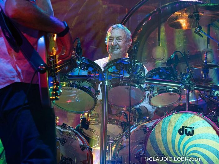 Remember A Day in Taormina: Nick Mason in concerto