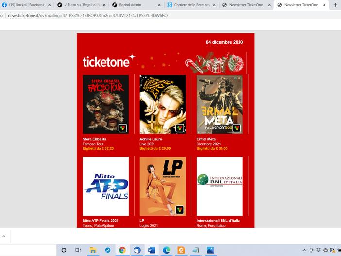 Come regalare biglietti per i concerti (per il 2021)