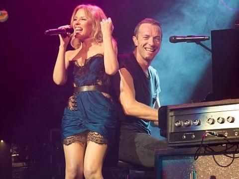 Coldplay Kylie Minogue