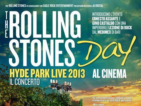 Rolling Stones, il concerto di Hyde Park domani al cinema in 2K