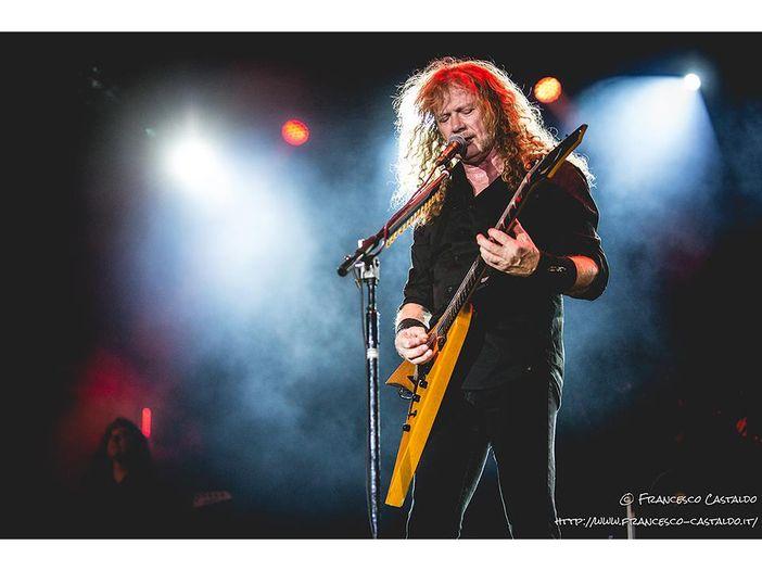 Megadeth, il ritorno ai live dopo la malattia di Dave Mustaine. Video