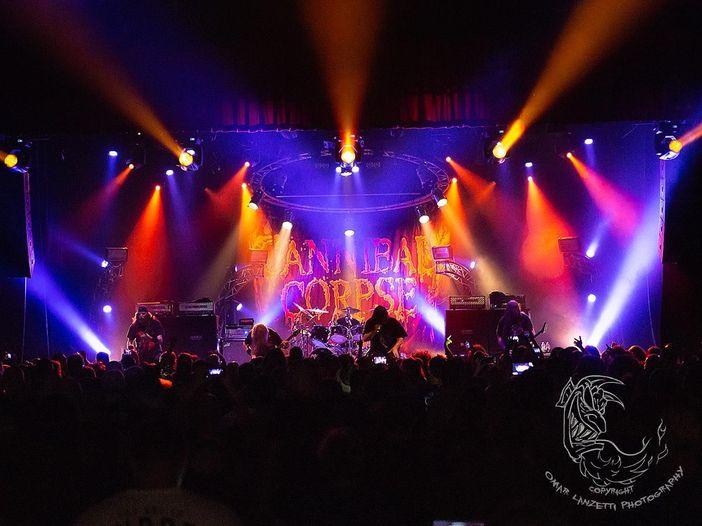 Cannibal Corpse con il produttore Neil Kernon