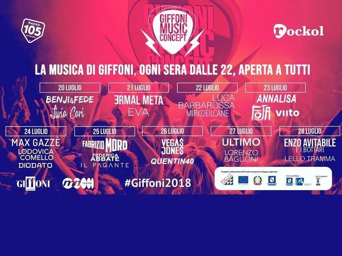Giffoni Music Concept 2018, i momenti clou della sesta giornata - FOTO GALLERY