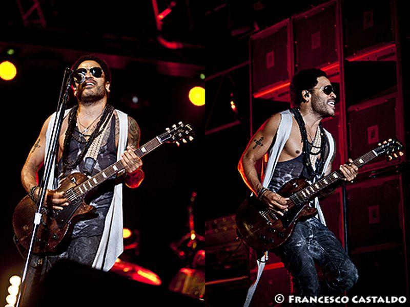 19 luglio 2012 - 10 Giorni Suonati - Castello - Vigevano (Pv) - Lenny Kravitz in concerto