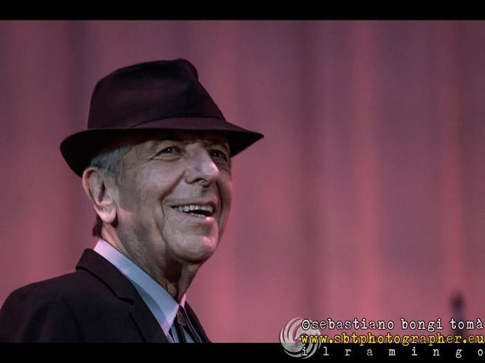Concerti, Leonard Cohen: unica data italiana il primo settembre a Firenze