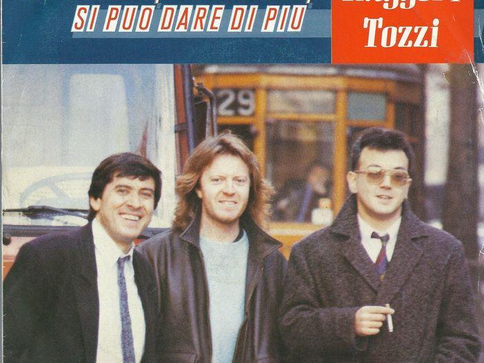 """Morandi-Ruggeri-Tozzi, la storia di """"Si può dare di più"""""""