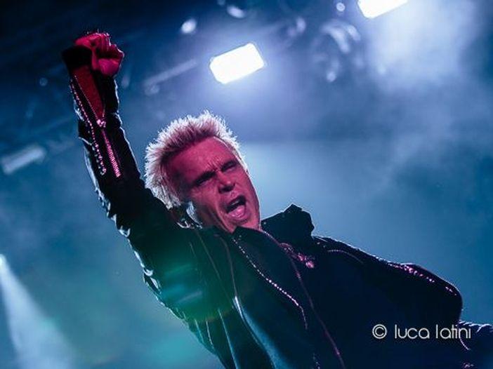 Billy Idol, con il nuovo EP anche un tour in Europa (ma non in Italia)