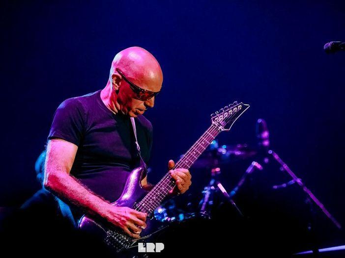Torna in Italia la chitarra di Joe Satriani: ecco dove suonerà