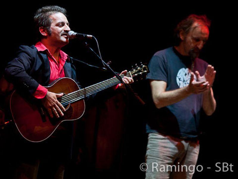 16 Ottobre 2010 - Premio Ciampi - Teatro Goldoni - Livorno - Peppe Voltarelli in concerto