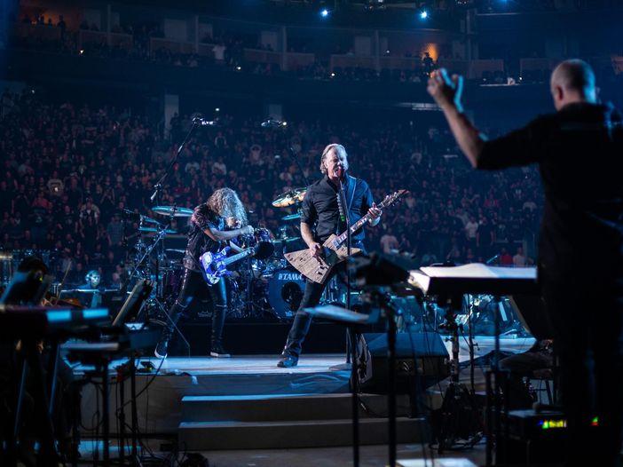 Metallica: il film concerto 'S&M²' in replica al cinema il 30 ottobre