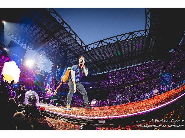 Coldplay: un inedito in concerto a San Diego per il terremoto in Messico