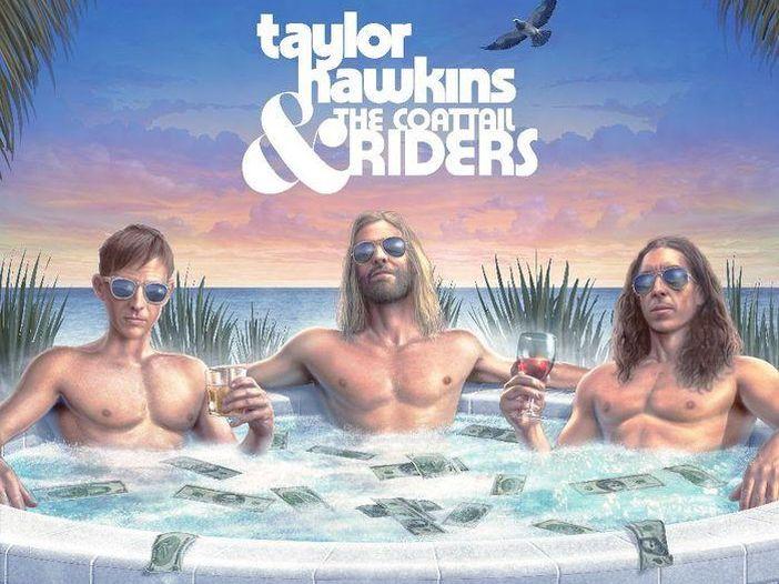 Taylor Hawkins, ascolta la collaborazione con Dave Grohl su 'Middle Child'