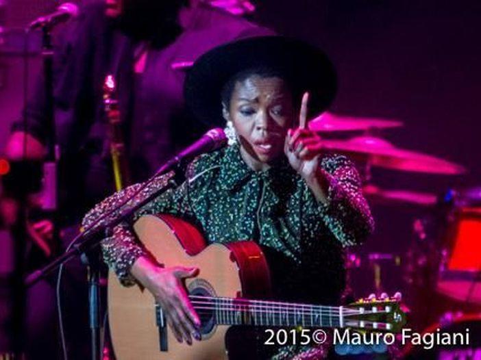 Concerti, Lauryn Hill due date in Italia a Lucca e Roma