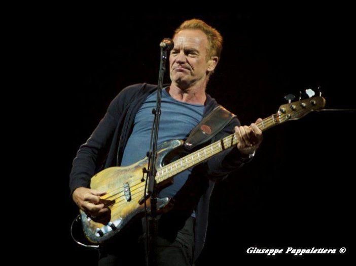 Concerti: il tour europeo di Sting in Italia a Lucca e Padova