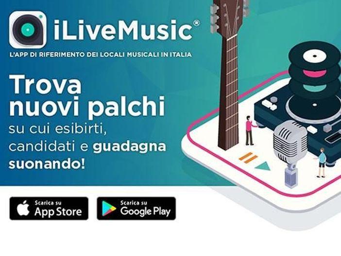 iLiveMusic, l'app gratuita che mette in contatto artisti e organizzatori senza nessuna intermediazione