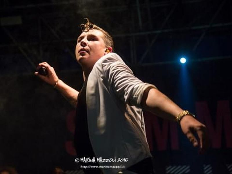 8 agosto 2015 - McArthurGlen Outlet - Serravalle Scrivia (Al) - John Newman in concerto