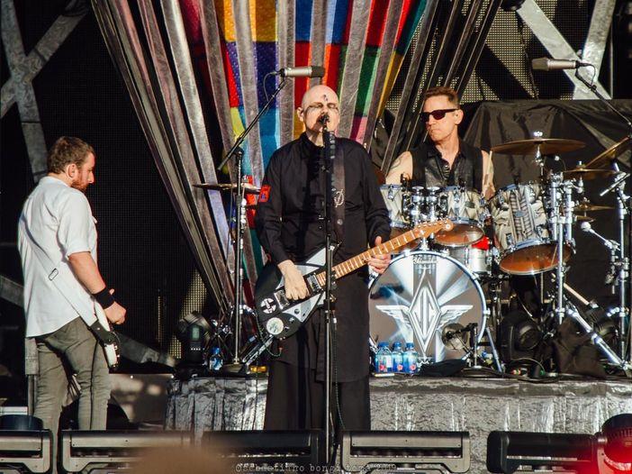 Il rock malinconico degli Smashing Pumpkins: la recensione del concerto