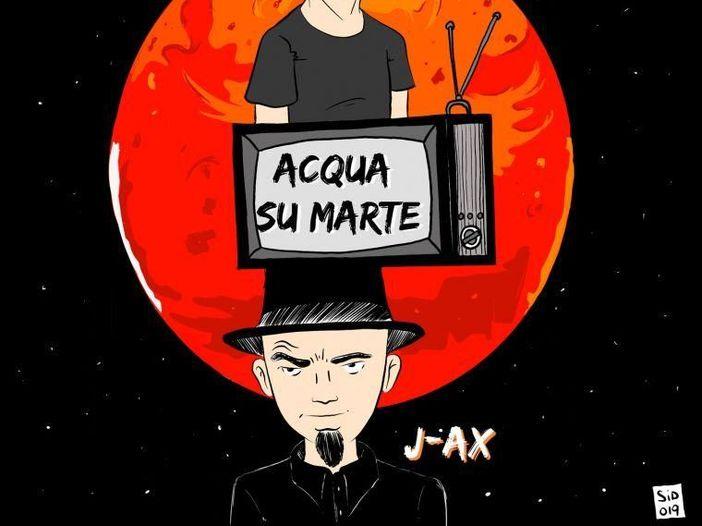 """Tormento feat. J-Ax: """"Acqua su Marte"""" è il nuovo singolo"""