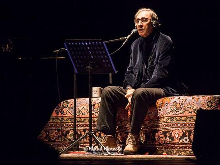 Concerti, Franco Battiato: tour di otto date in Italia a luglio