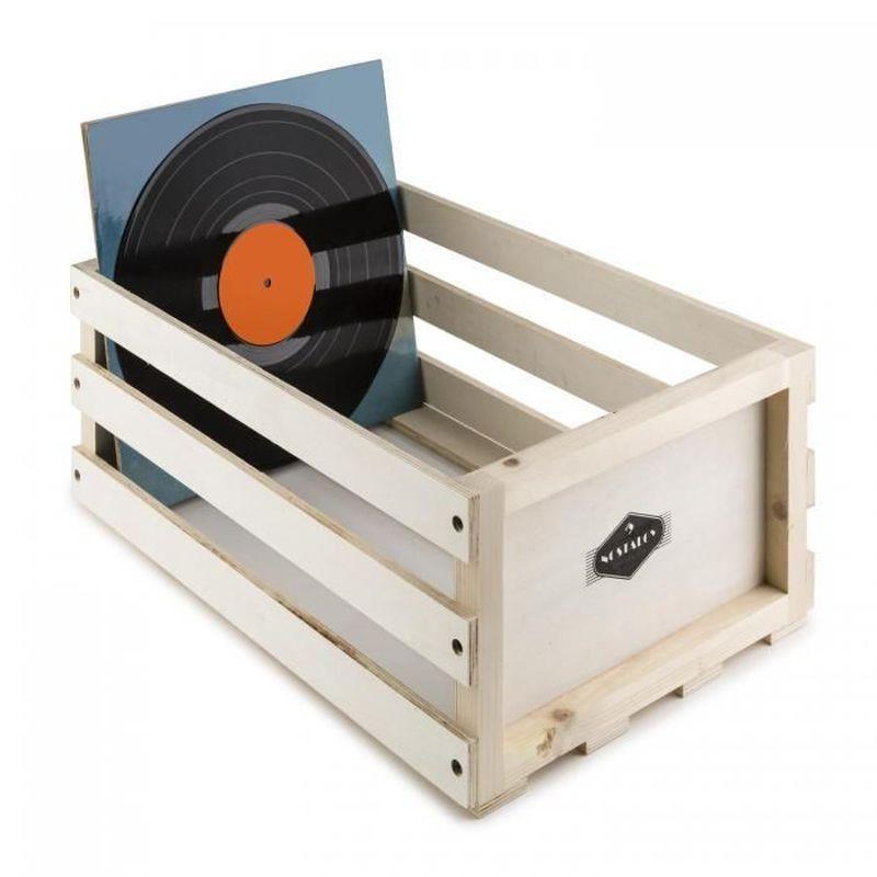 Nostalgy Record Box: il porta vinili solido ed elegante