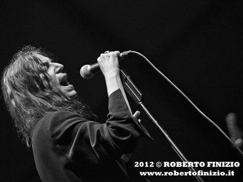 23 luglio 2012 - Villa Arconati - Castellazzo di Bollate (Mi) - Patti Smith in concerto