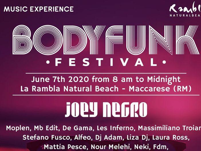 Body Funk Festival: a giugno a Roma la prima edizione italiana