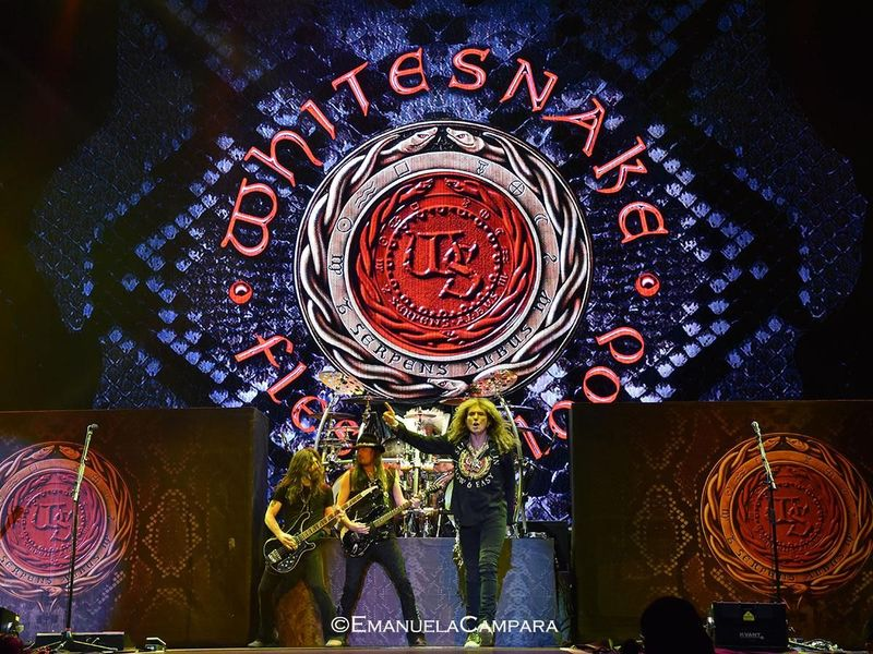 19 giugno 2019 - Mediolanum Forum - Assago (Mi) - Whitesnake in concerto