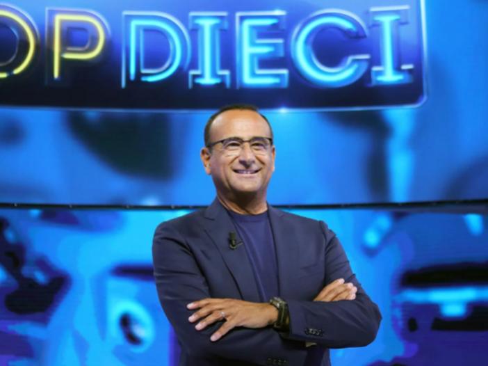 Max Pezzali e Albano e Romina Power ospiti a Top Dieci