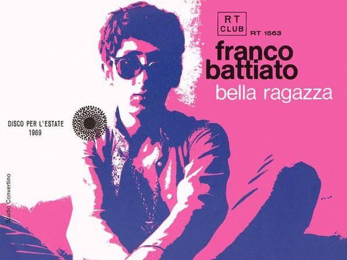 """Franco Battiato a 45 giri: """"Bella ragazza"""" / """"Occhi d'or"""" (1969)"""