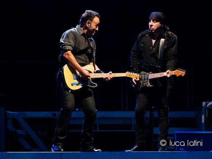 Bruce Springsteen torna sul palco nella sua Asbury Park