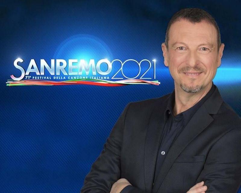 """Sanremo 2021, Amadeus: """"Il Festival 'si può fare'!"""""""