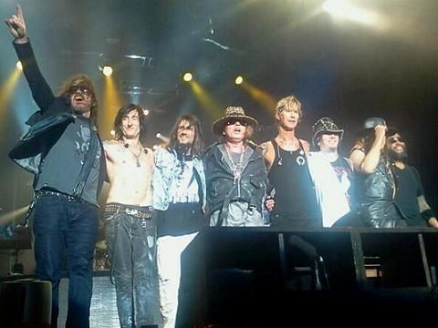 reunion con Duff McKagan Argentina 2014