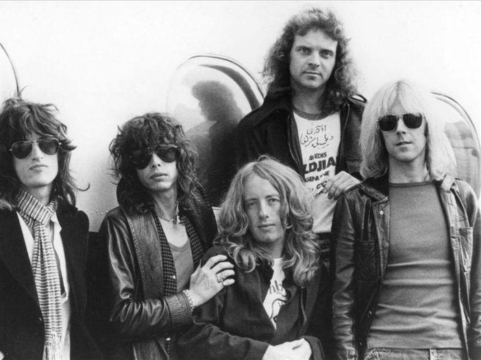 Aerosmith: Rockol alla presentazione di 'Just push play'