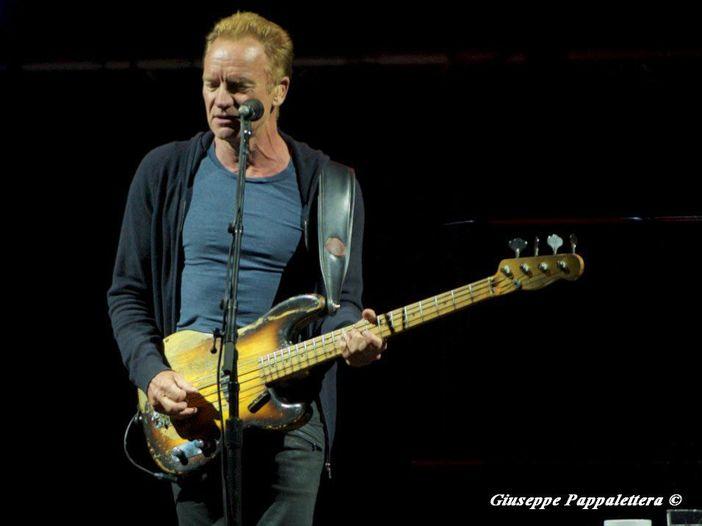 Concerti, Sting annuncia un live italiano in autunno