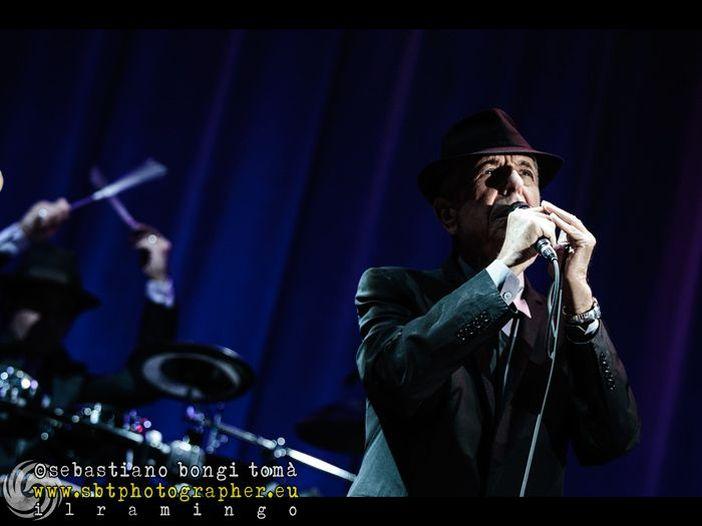 Concerti, Leonard Cohen: una data a Lucca il 9 luglio