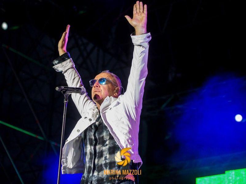 11 luglio 2018 - Arena del Mare - Genova - Simple Minds in concerto
