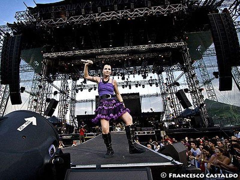3 Luglio 2010 - Heineken Jammin' Festival - Parco San Giuliano - Mestre (Ve) - Cranberries in concerto