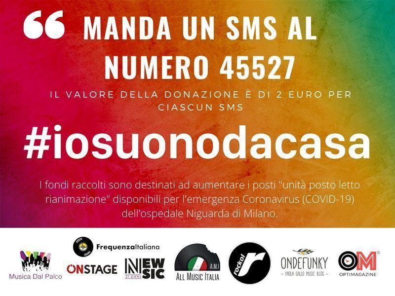 #iosuonodacasa: il calendario aggiornato dei concerti via social