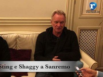 Sting - con Shaggy a Sanremo