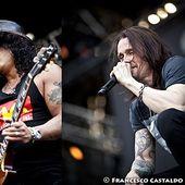 23 giugno 2012 - Gods of Metal 2012 - Arena Concerti Fiera - Rho (Mi) - Slash in concerto
