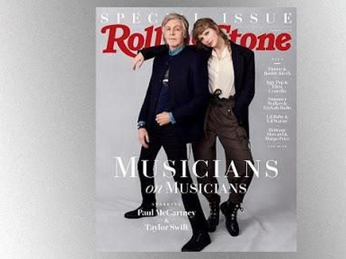 Paul McCartney e Taylor Swift, scambio di cortesie fra colleghi