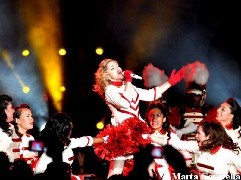 12 giugno 2012 - Stadio Olimpico - Roma - Madonna in concerto