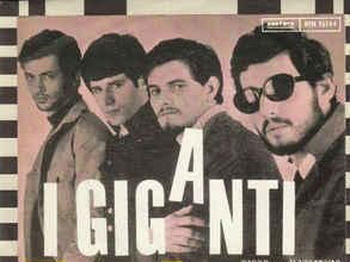 I Giganti, 55 anni fa in testa alla hit parade