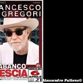 6 aprile 2016 - PalaBanco - Brescia - Francesco De Gregori in concerto