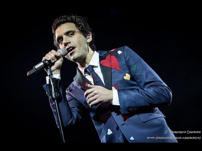 Sanremo 2017, Mika, ospite del Festival, in sala stampa
